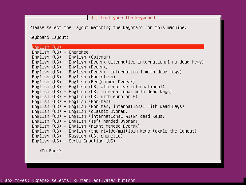 ubuntu 17.10 server installation 6
