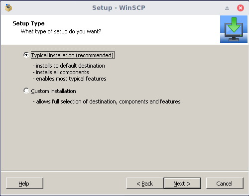 install winscp on linux 2