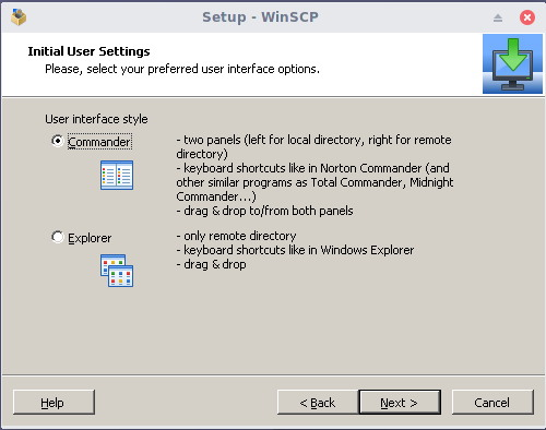 install winscp on linux 3