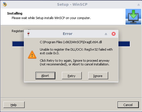 install winscp on linux 7