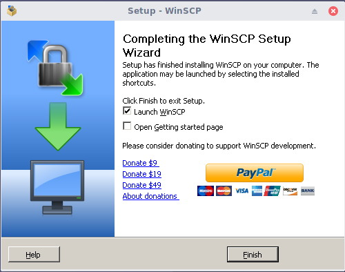 install winscp on linux 8