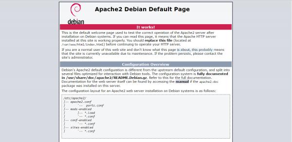 install LAMP Server on Debian 8