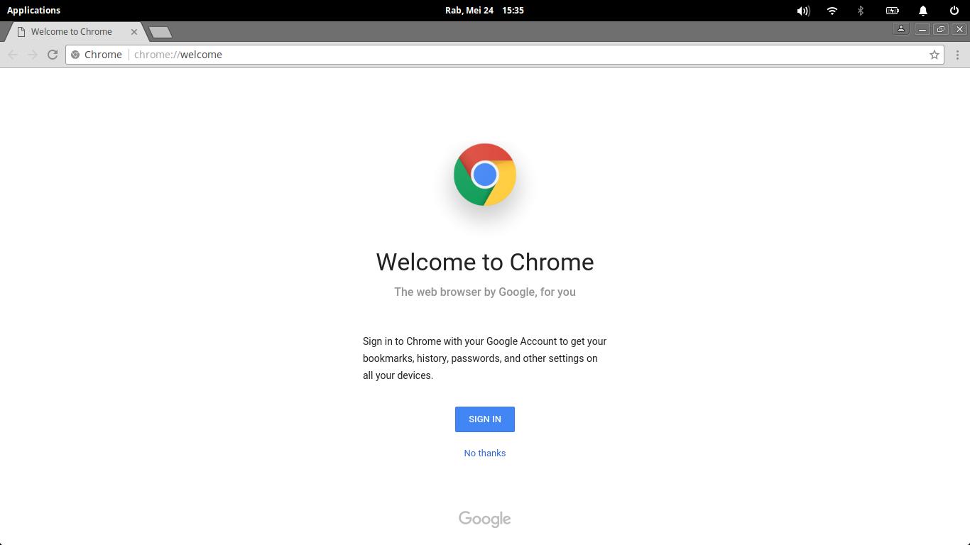 google chrome on elementary os loki | Manjaro dot site