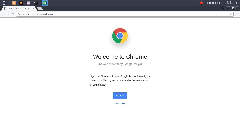 google chrome on manjaro.png