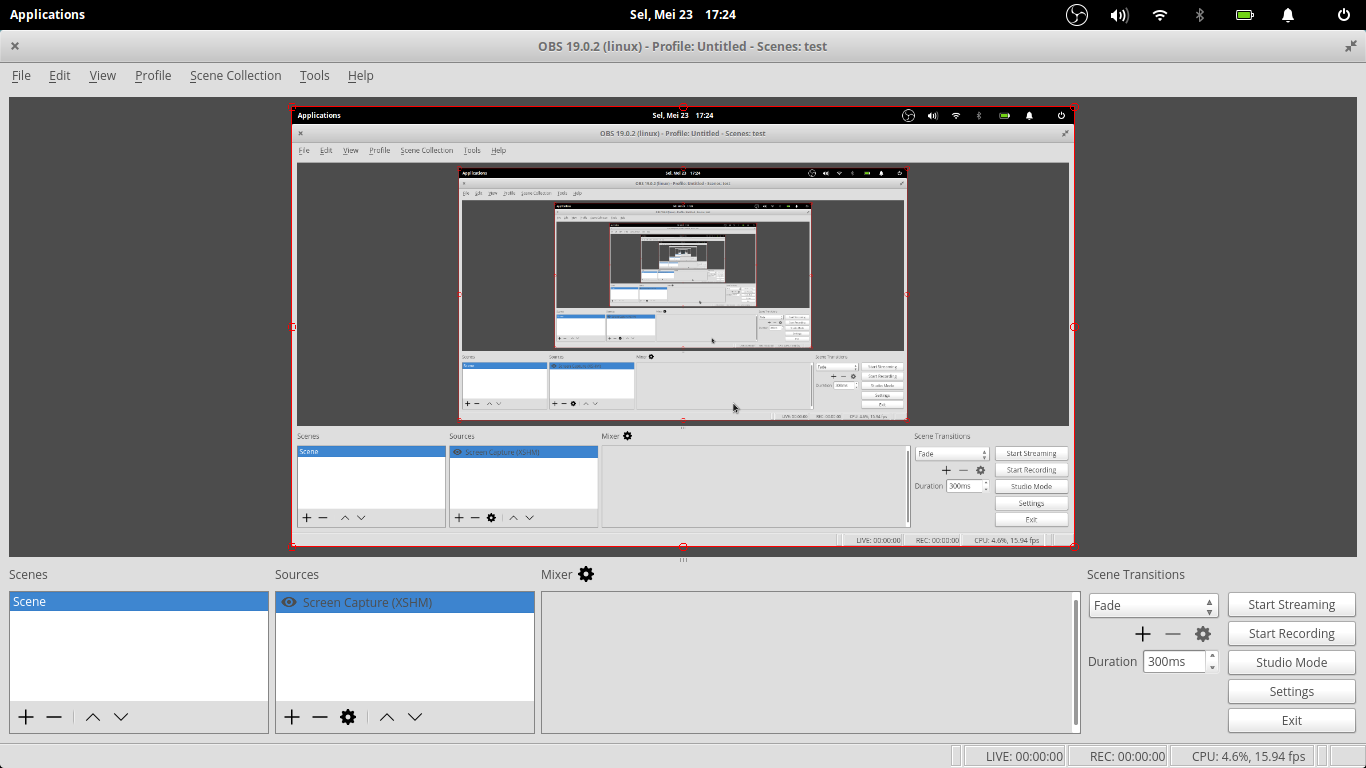 how to add video to obs