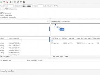 install ftp server on debian 9