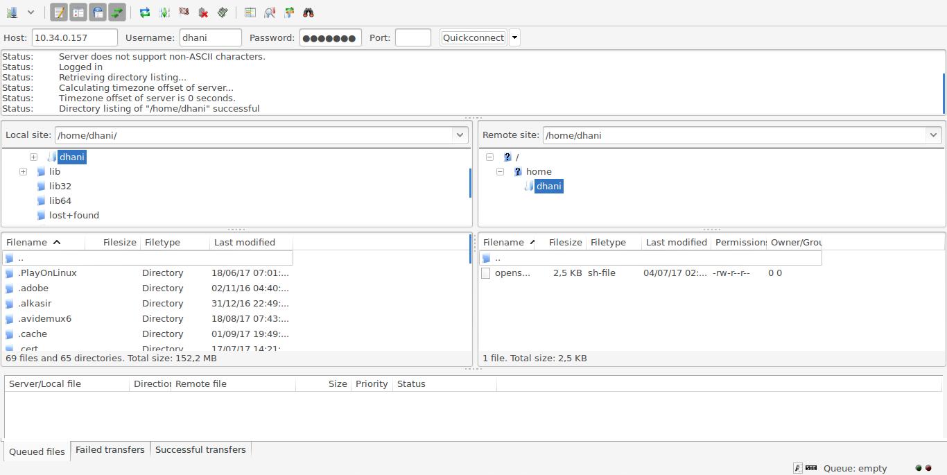 install filezilla ubuntu 14.4