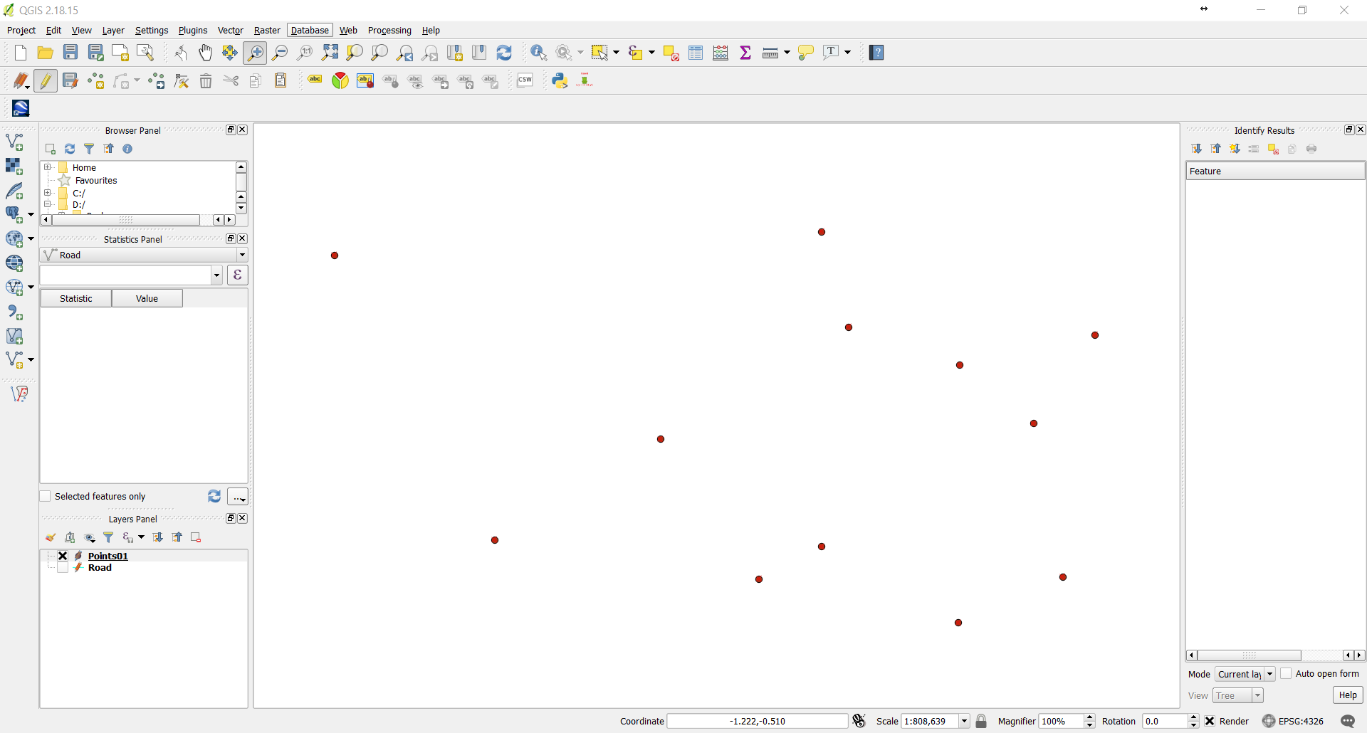 how to draw a line in qgis